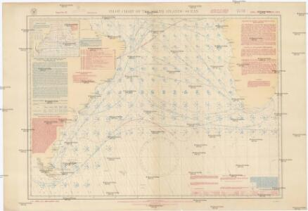 Pilot chart of the South Atlantic Ocean