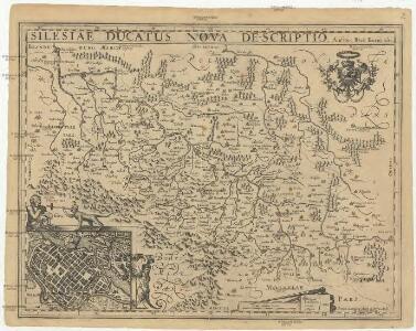 Silesia ducatus nova descriptio