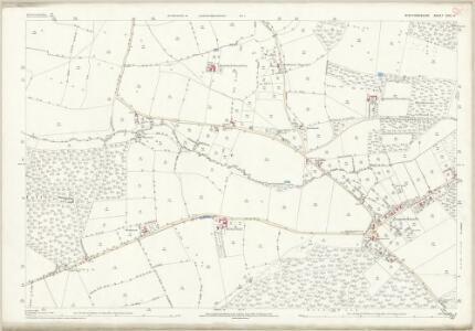 Staffordshire XXII.11 (includes: Ashley; Mucklestone; Tyrley) - 25 Inch Map