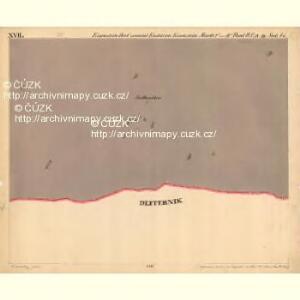 Eisenstein Dorf - c7755-2-017 - Kaiserpflichtexemplar der Landkarten des stabilen Katasters