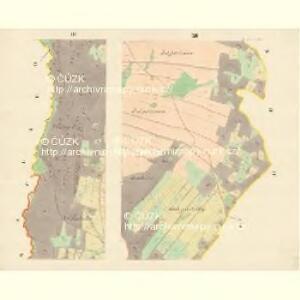 Heinrichswald (Kilerzow) - m1110-1-002 - Kaiserpflichtexemplar der Landkarten des stabilen Katasters