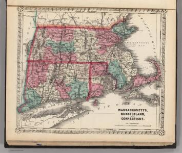 Massachusetts, Rhode Island, and Connecticut.