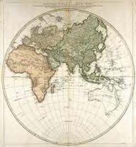 Hémisphère oriental ou de l'ancien monde