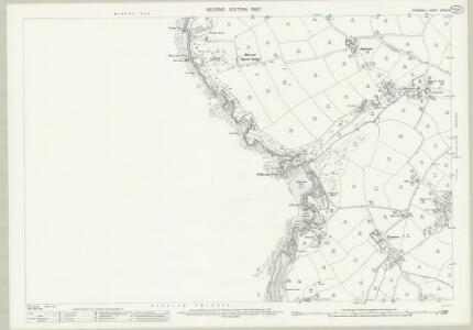 Cornwall LXXX.14 (includes: Mullion) - 25 Inch Map