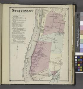 Stuyvesant [Township]; Stuyvesant Business Notices.