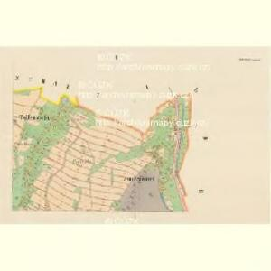 Tollenstein - c6580-2-002 - Kaiserpflichtexemplar der Landkarten des stabilen Katasters