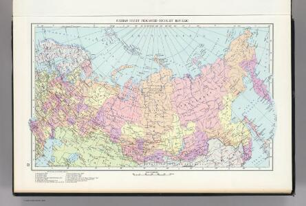 12.  Russian Soviet Federated Socialist Republic, Political.  The World Atlas.
