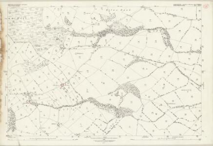 Shropshire XXXIX.14 (includes: Chirbury; Trelystan; Worthen) - 25 Inch Map