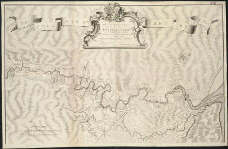 Nieuwe ez zeer accuraate generaale caart van de twee rievieren Berbice en Canja met alle desselts plantagien en gronden op ordre van de Edl. Agtere. Heeren Direceuren van de geoctroyeerde colonie