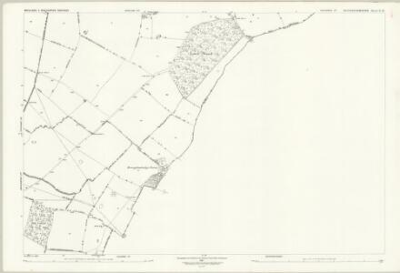 Buckinghamshire X.12 (includes: Broughton; Cranfield; Hulcote and Salford; Moulsoe) - 25 Inch Map