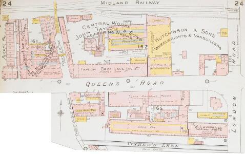 Insurance Plan of Nottingham Vol. II: sheet 24-1