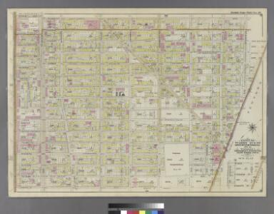 Part of Wards 27 & 28. Land Map Section, No. 11, Volume 1, Brooklyn Borough, New York City.