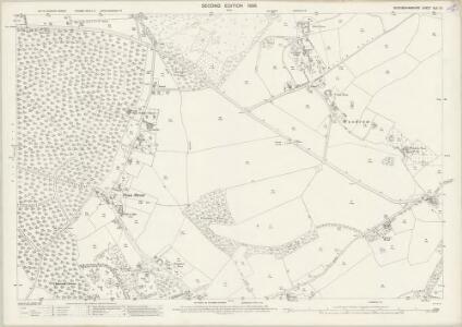 Buckinghamshire XLII.12 (includes: Amersham; Coleshill; Penn) - 25 Inch Map