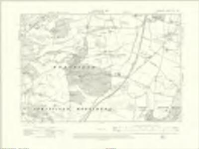 Berkshire XLV.NW - OS Six-Inch Map