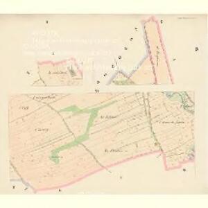 Klattau (Klattowy) - c3137-1-001 - Kaiserpflichtexemplar der Landkarten des stabilen Katasters