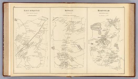 E. Kingston, Danville, Hampstead.