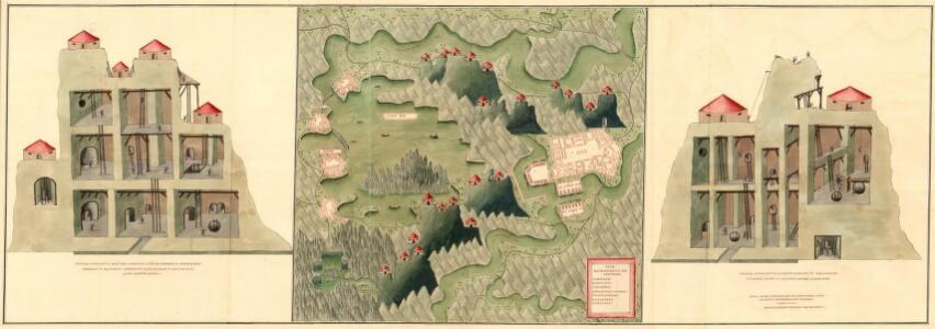 Plan der Bergwerg in der Creitzen
