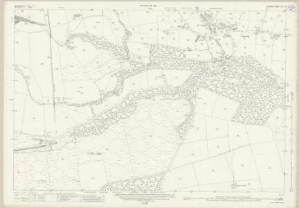 Durham XLI.13 (includes: Langleydale And Shotton; Lynesack And Softley; Woodland) - 25 Inch Map