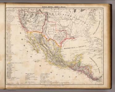 Mexico, Mittel-America, Texas.
