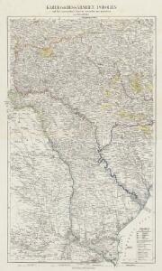 Karte von Bessarabien, Podolien und den angrenzenden Ländern