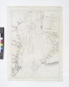 A chart of Delawar Bay : with soundings and nautical observations / taken by Capt. Sir Andrew Snape Hammond of the Navy and others ; composed ... for the use of pilotage by J.F.W. Des Barres esqr.