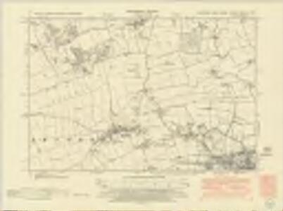 Yorkshire CCXXV.NE - OS Six-Inch Map