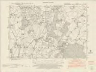 Herefordshire LII.NE - OS Six-Inch Map
