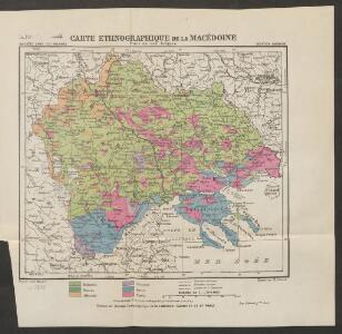 Carte ethnographique de la Macédoine, Point de vue bulgare