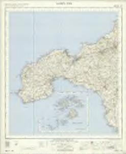 Lands End - OS One-Inch Map
