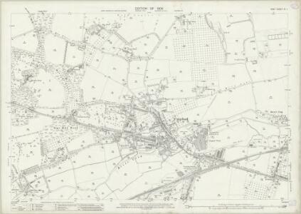 Kent IX.1 (includes: Bexley; Crayford) - 25 Inch Map