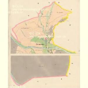 Nebrzezin (Nebřezin) - c4982-1-001 - Kaiserpflichtexemplar der Landkarten des stabilen Katasters