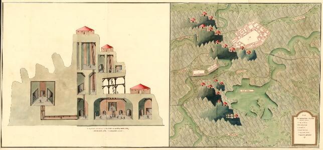 Plan des Bergwergs St. Anna an der Miss