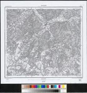 Meßtischblatt [7714] : Haslach, 1881