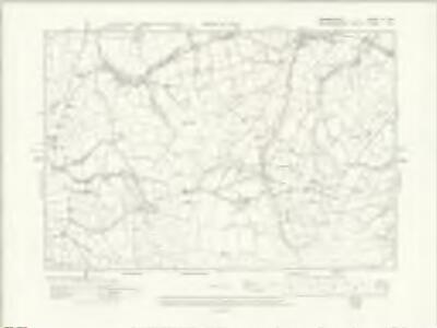 Denbighshire XI.SE - OS Six-Inch Map