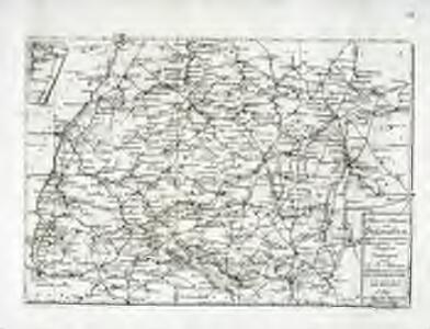 Reise-Karte von Schwaben
