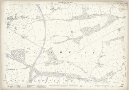 Yorkshire CCLXXIII.7 (includes: Cawthorne; Denby; Gunthwaite And Ingbirchworth; Penistone) - 25 Inch Map