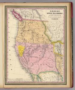 Oregon, Upper California & New Mexico.
