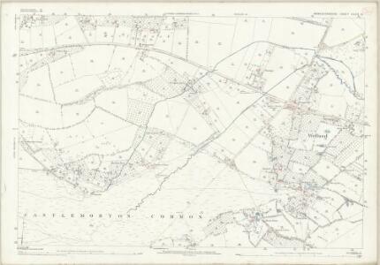 Worcestershire XLVII.9 (includes: Castlemorton; Little Malvern; Welland) - 25 Inch Map