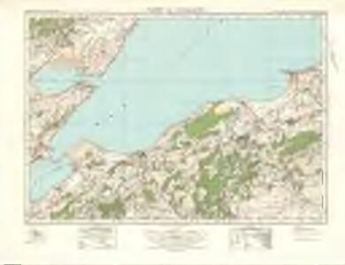 Nairn  & Cromarty (28) - OS One-Inch map