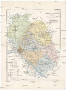Poszony vármegye térképe