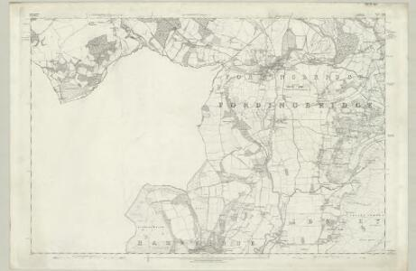 Hampshire & Isle of Wight LXII - OS Six-Inch Map