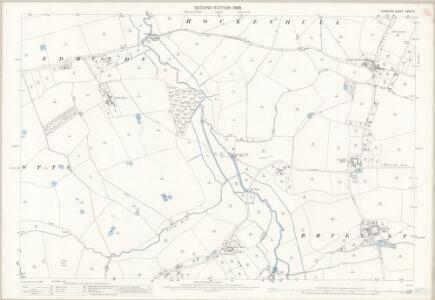 Cheshire XXXIX.14 (includes: Bruen Stapleford; Cotton Abbotts; Cotton Edmunds; Foulk Stapleford; Hockenhull; Tarvin; Waverton) - 25 Inch Map
