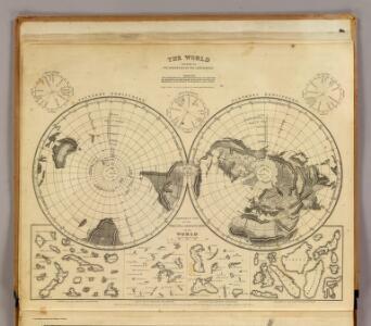 World land surface.