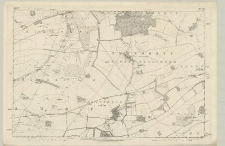 Hampshire & Isle of Wight XXII - OS Six-Inch Map
