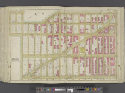 Manhattan, Double Page Plate No. 35 [Map bounded by Manhattan Morningside Ave E., W. 125th St., Lenox Ave., W. 110th St.]