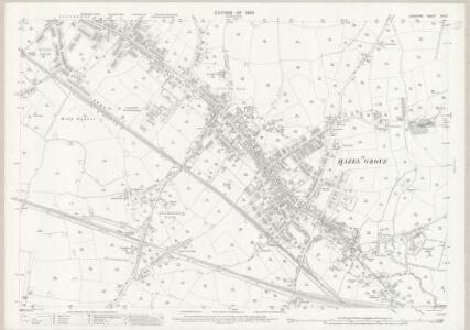 Cheshire XIX.8 (includes: Hazel Grove and Bramhall; Stockport) - 25 Inch Map