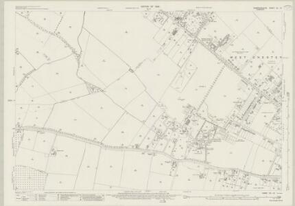 Cambridgeshire XL.13 (includes: Cambridge; Coton; Girton; Impington; Madingley) - 25 Inch Map