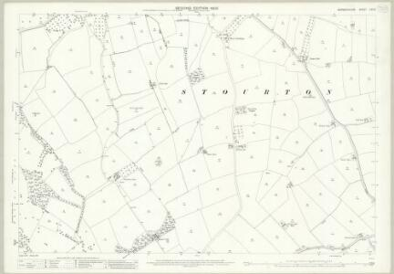 Warwickshire LVII.6 (includes: Cherington; Long Compton; Stourton; Whichford) - 25 Inch Map