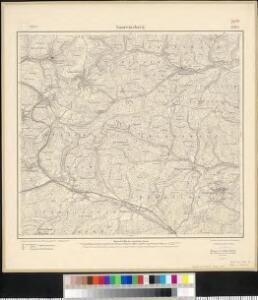 Meßtischblatt 3583 : Saareinsberg, 1914
