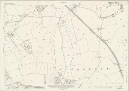 Essex (New Series 1913-) n IX.7 (includes: Birdbrook; Steeple Bumpstead) - 25 Inch Map